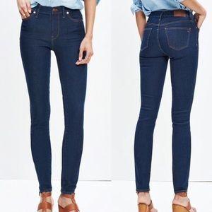 Madewell High Rise Skinny Jeans Size 29 Davis Wash